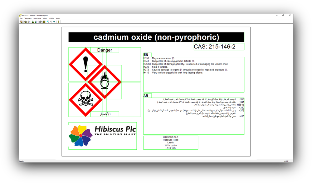 chemical label software