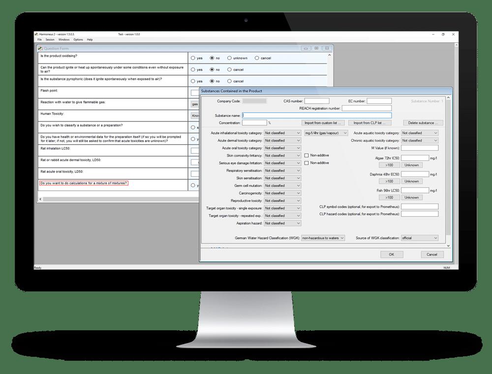 Hibiscus Plc hazard communication software