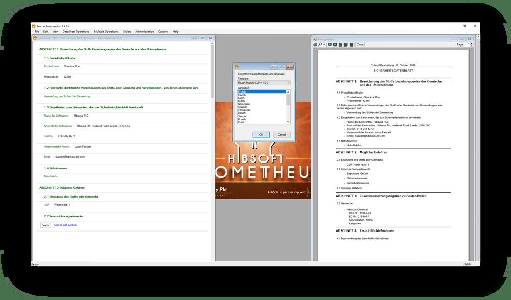 safety data sheet software